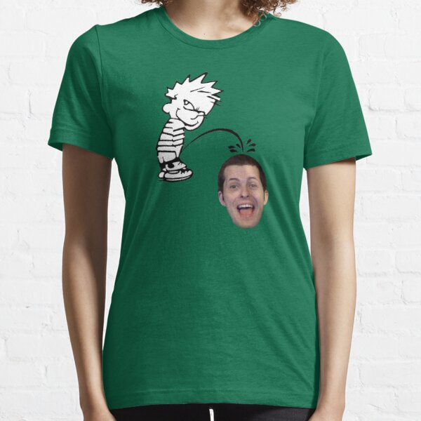 calvin peeing on mike matei Essential T-Shirt