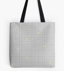 Carreaux - Grey/Green - Bis Tote Bag
