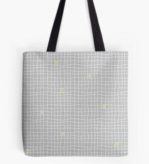 Carreaux - Grey/Green - Bis Tote bag
