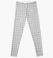 Carreaux - Grey/Green - Bis Leggings