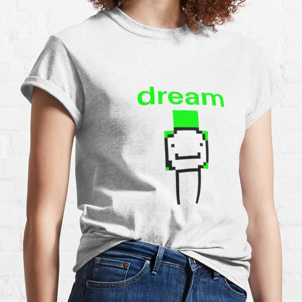 dream minecraft skin Classic T-Shirt