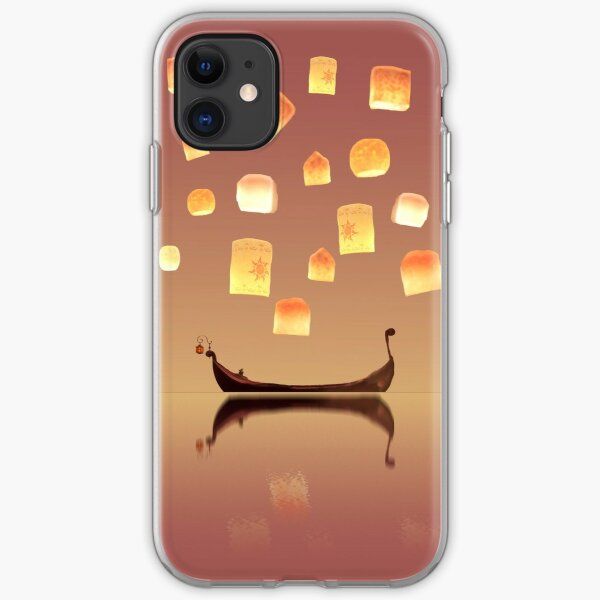 Tangled Lanterns iPhone Soft Case