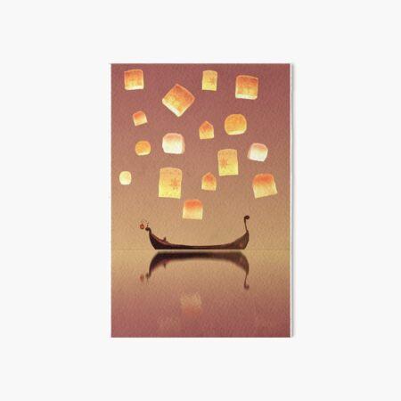 Tangled Lanterns Art Board Print
