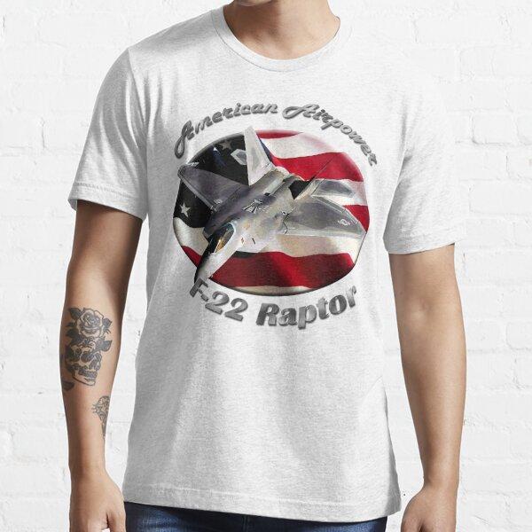 F-22 Raptor American Airpower Essential T-Shirt