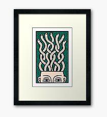 My brains Framed Print