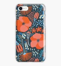 Summer field colorful pattern iPhone Case/Skin