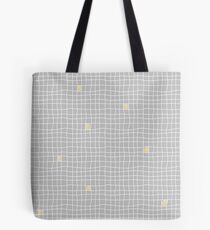 Carreaux - Grey/Yellow - Bis Tote Bag