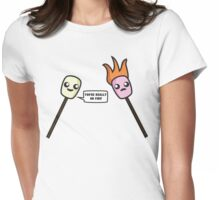You're really on fire! Womens Fitted T-Shirt