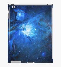 Blue nebula - Space iPad Case/Skin