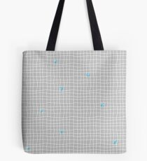 Carreaux - Grey/Blue - Bis Tote Bag