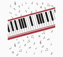 Piano Keyboard Beat It | Unisex T-Shirt