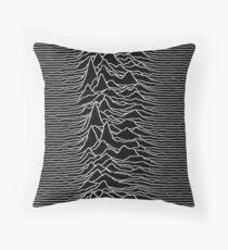 Unknown Happiness Throw Pillow