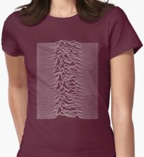 Unknown Happiness Womens Fitted T-Shirt