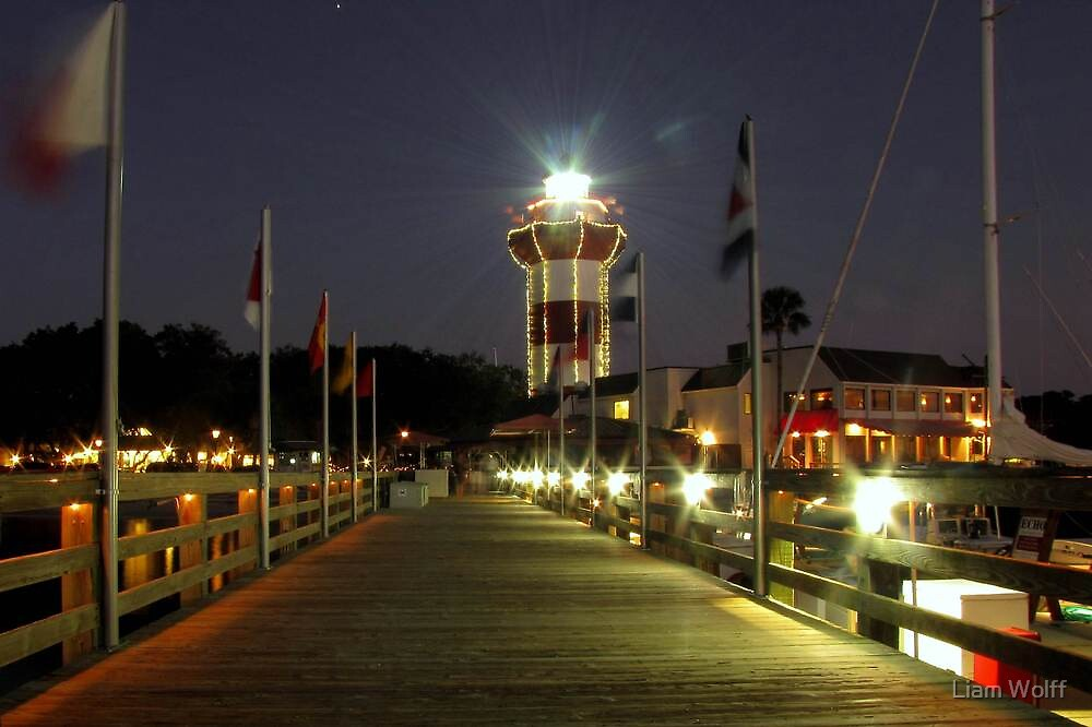 Harbour Town Lighthouse, Hilton Head by Liam Wolff