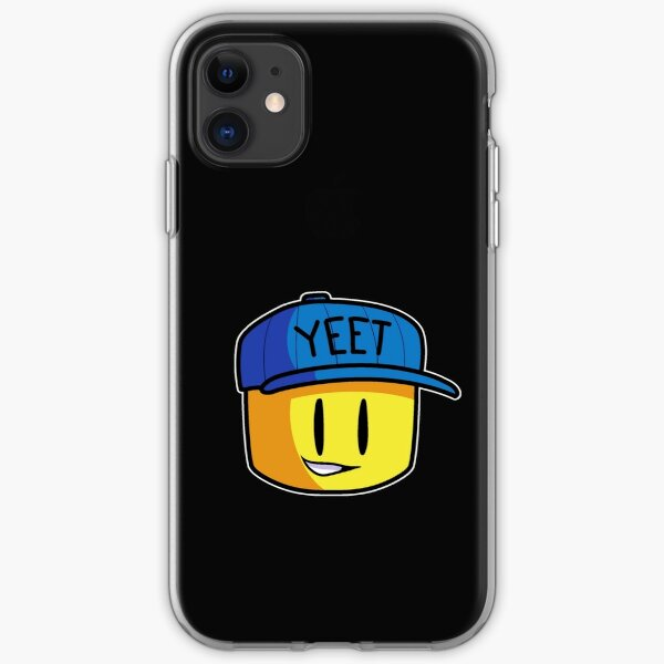 Roblox Noob Logo 4 By George Roblox Noob Png Image With Roblox Face Iphone Cases Covers Redbubble