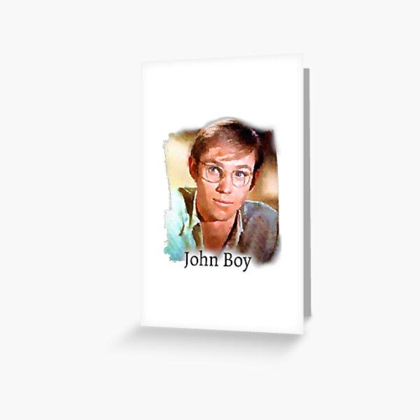 John Boy Walton Greeting Card