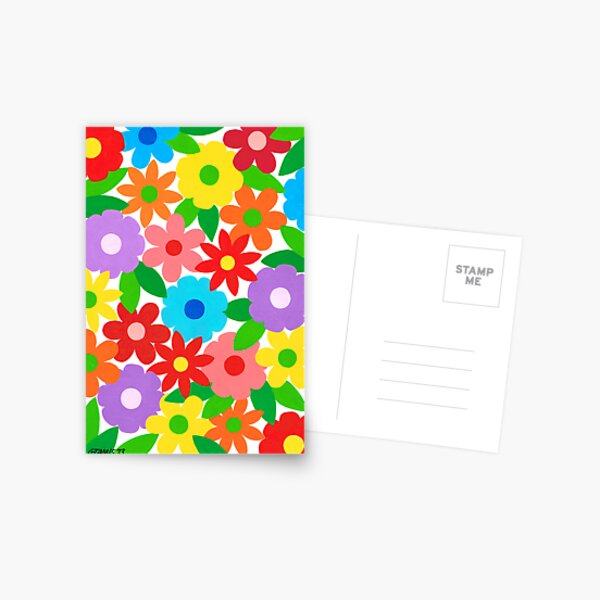 FLOWER SPLENDOR Postcard