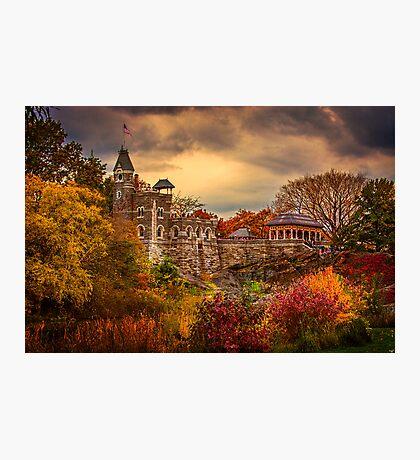 Autumn At Belvedere Castle Photographic Print