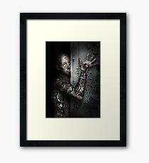 MECHANICAL NIGHTMARE Framed Print