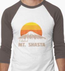 I climbed Mt. Shasta Men's Baseball ¾ T-Shirt