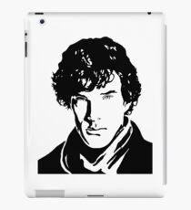 Benjamin Cumberbatch Sherlock Holmes iPad Case/Skin