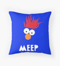 Beaker MEEP Throw Pillow