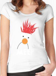 Beaker MEEP Women's Fitted Scoop T-Shirt