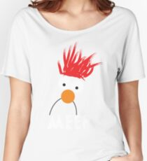 Beaker MEEP Women's Relaxed Fit T-Shirt