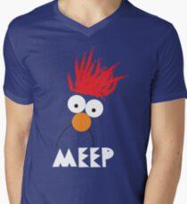 Beaker MEEP Men's V-Neck T-Shirt