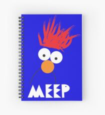Beaker MEEP Spiral Notebook