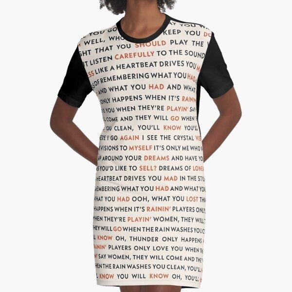Fleetwood Mac - Dreams Graphic T-Shirt Dress
