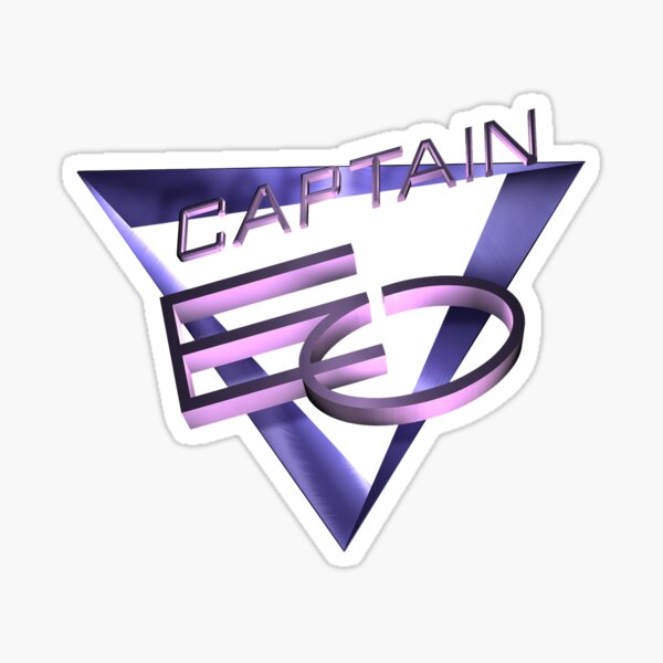 Captain EO Sticker