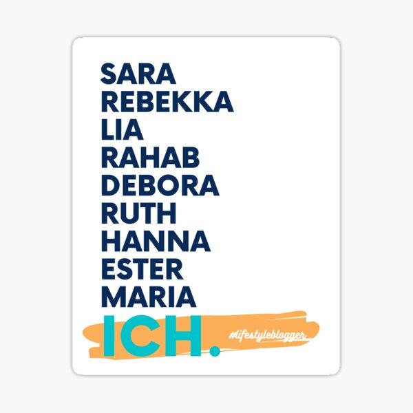FrauT Sticker