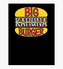 Big Kahuna Burger Tee Photographic Print
