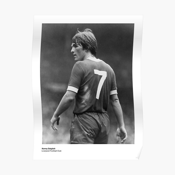 Kenny Dalglish - Liverpool Football Club Poster