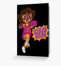 LuchaDora Greeting Card