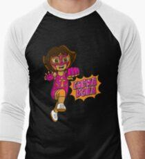 LuchaDora Men's Baseball ¾ T-Shirt