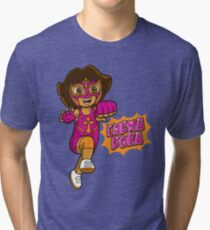 LuchaDora Tri-blend T-Shirt