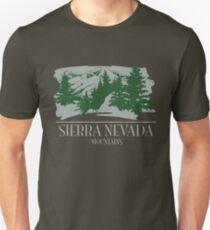 Sierrra Nevada Mountains Unisex T-Shirt