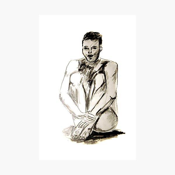 Männlicher Akt Fotodruck