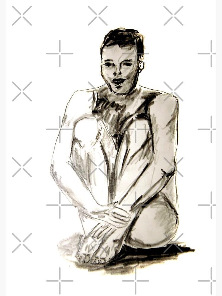Männlicher Akt von JenniMitkovic