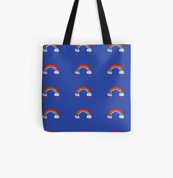 Rainbow All Over Print Tote Bag