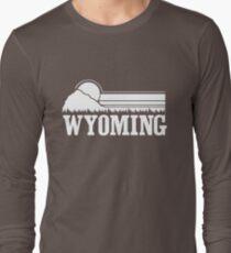 Wyoming Sunset Long Sleeve T-Shirt