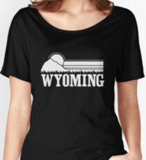 Wyoming Sunset Women's Relaxed Fit T-Shirt