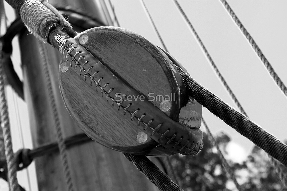 Block and Tackle by Steve Small