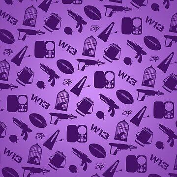 Warehouse 13 Case (Purple) by thegadzooks