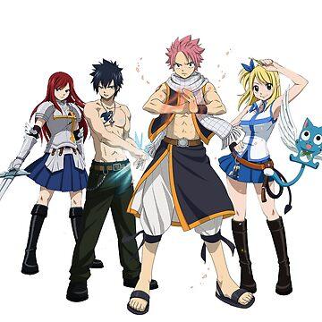 Team Natsu - Fairy Tail by Kabanaba