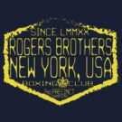 boxing ny by rogers brothers by usanewyork
