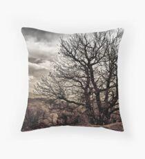 Alpujarras tree Throw Pillow