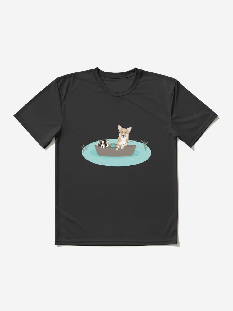 Alternate view of Fishing Corigs Active T-Shirt